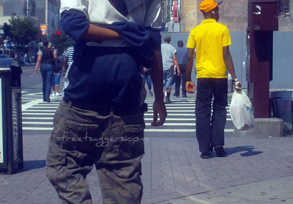 A sagger and his bodyguards